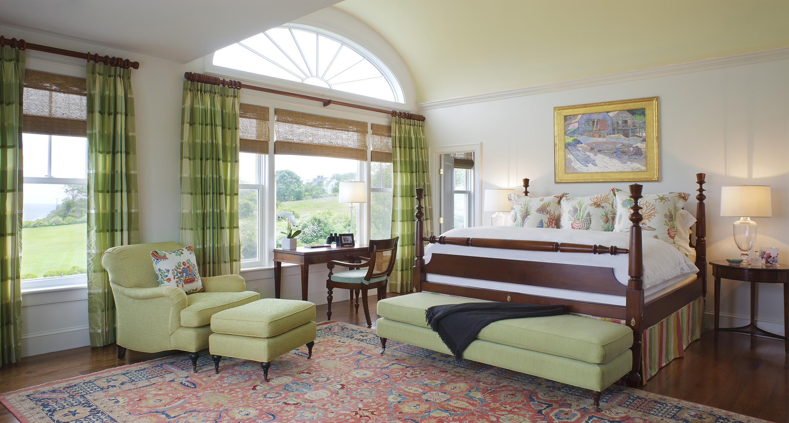estuary green bedroom