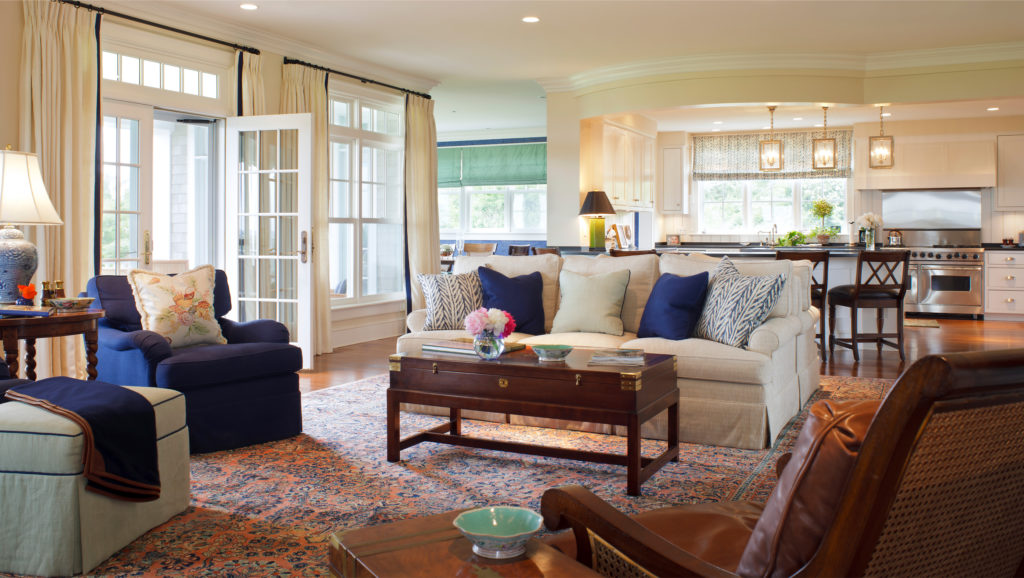 estuary living room design