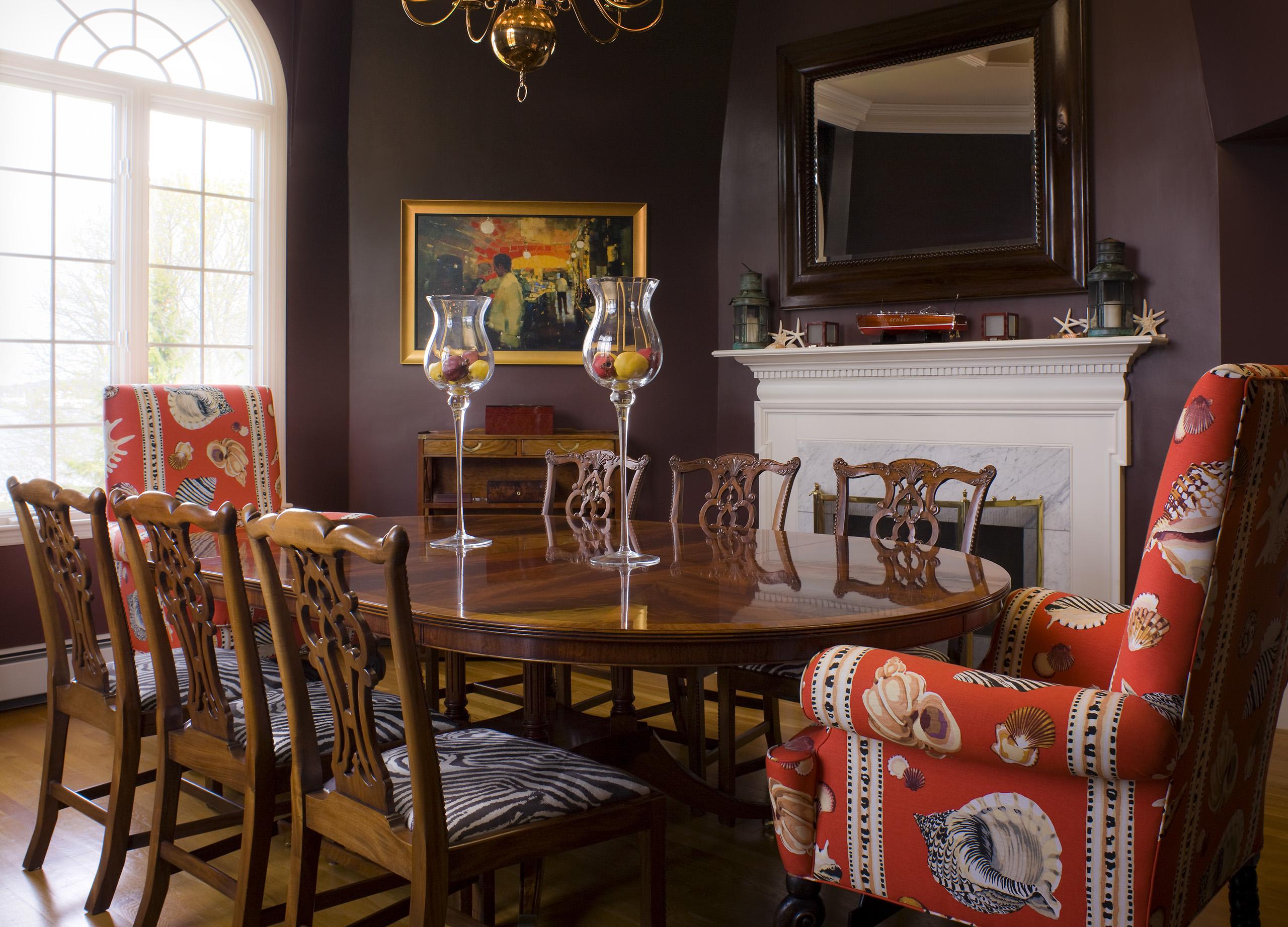 rhode island formal living room design