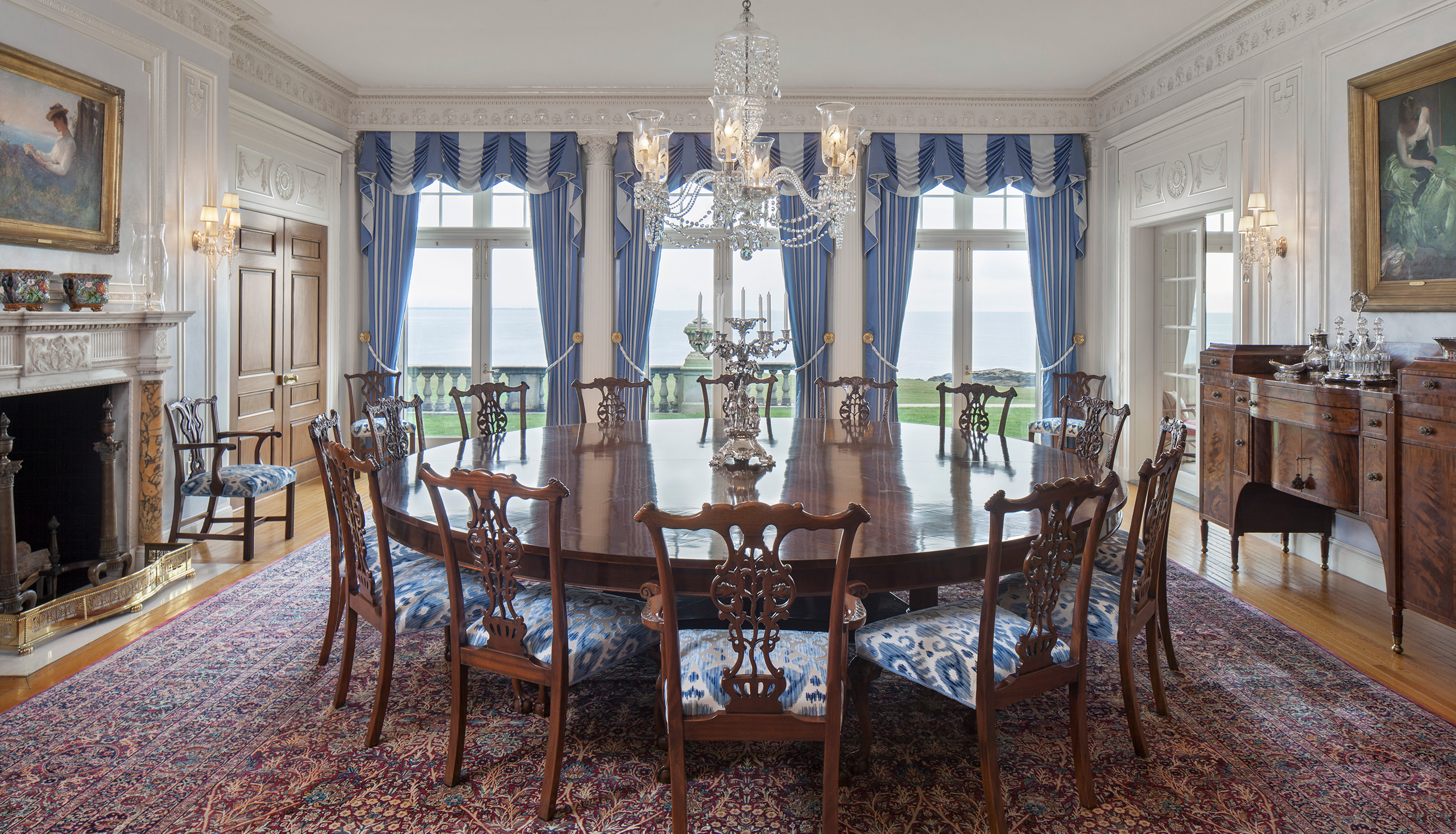 rhode island formal dining room