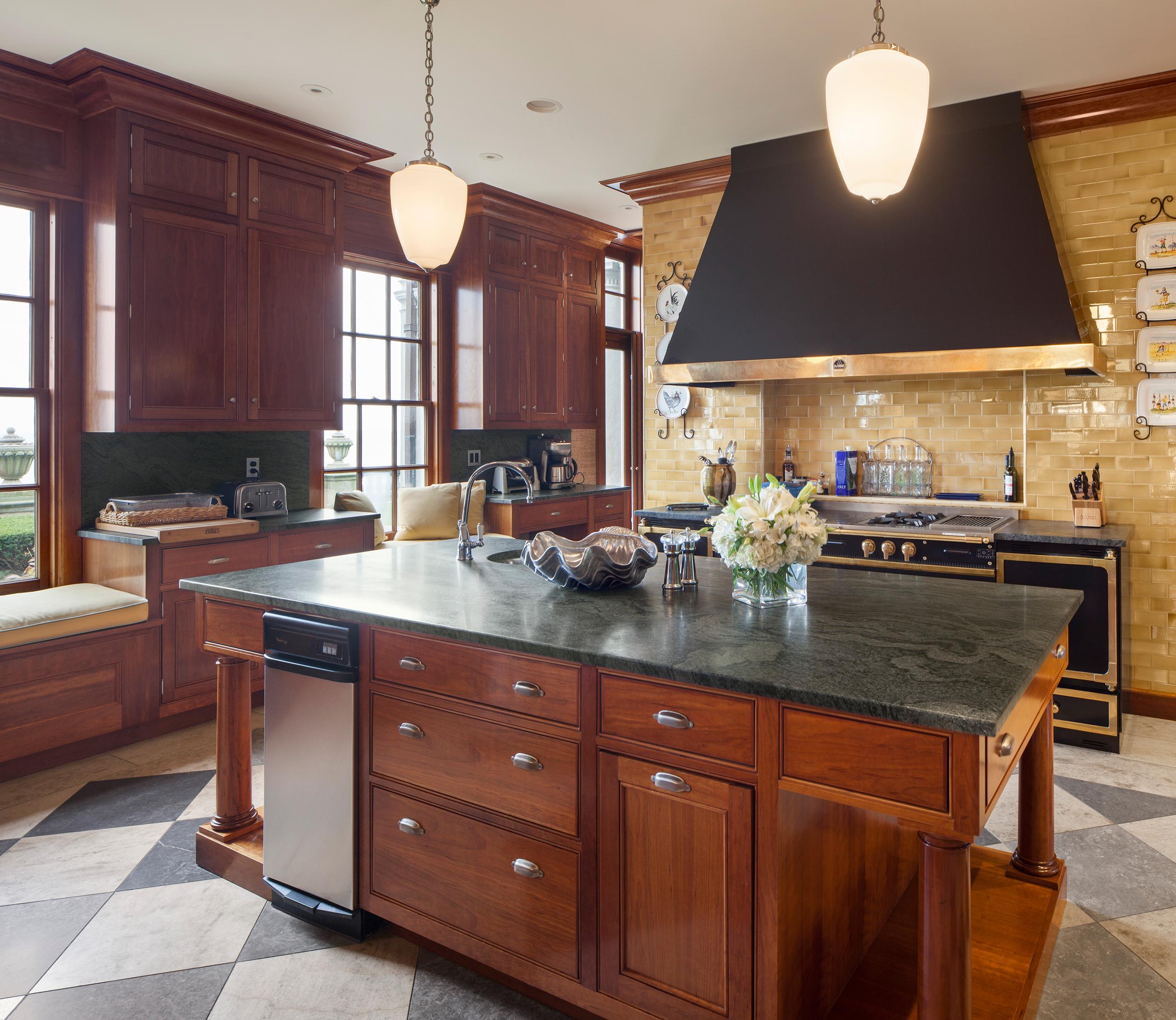 rockcliff kitchen design with island