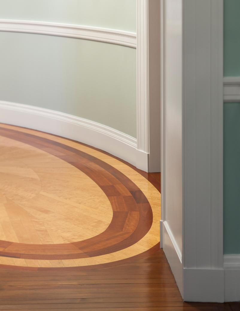 wood floor detail