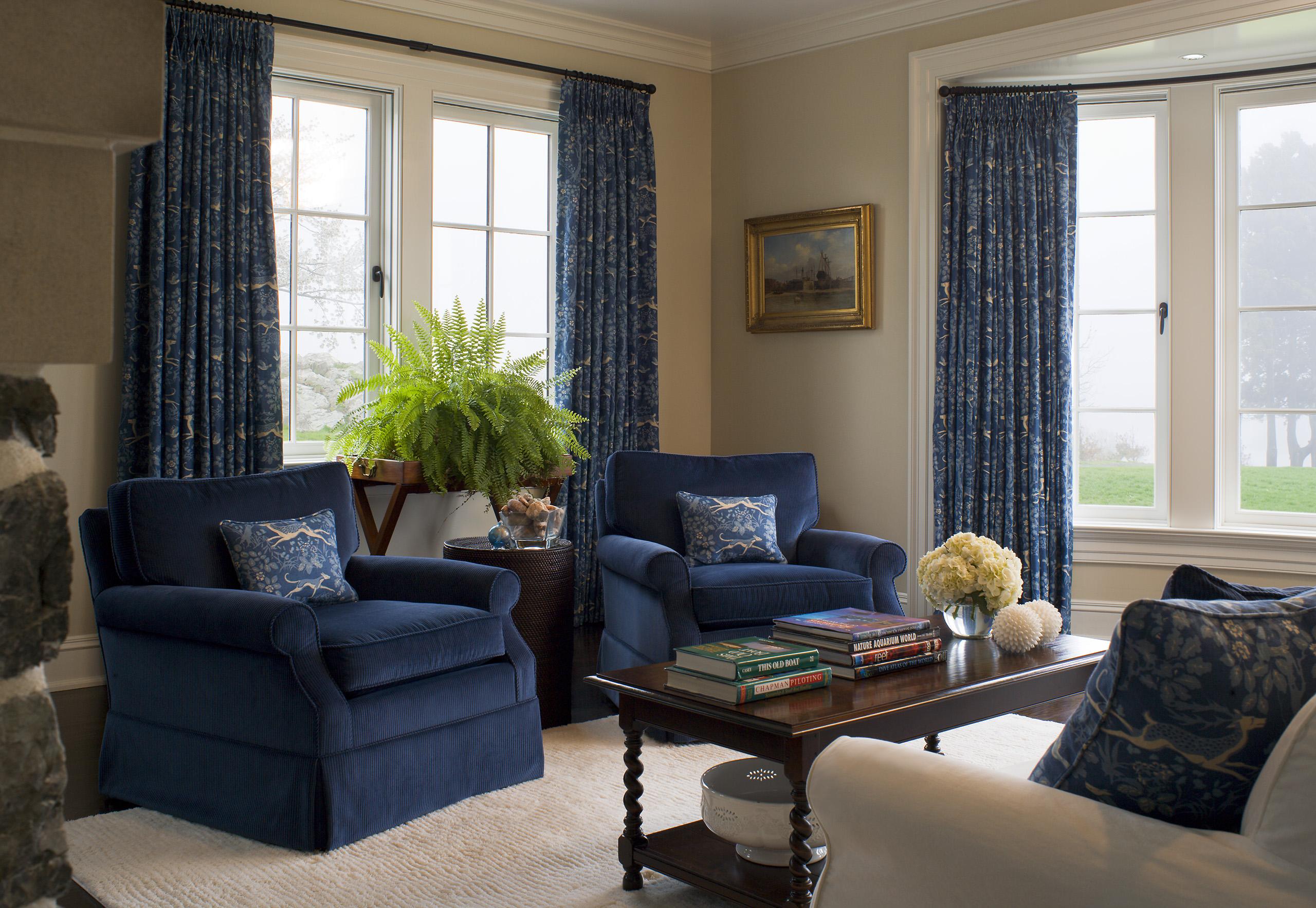 seaward cottage living room
