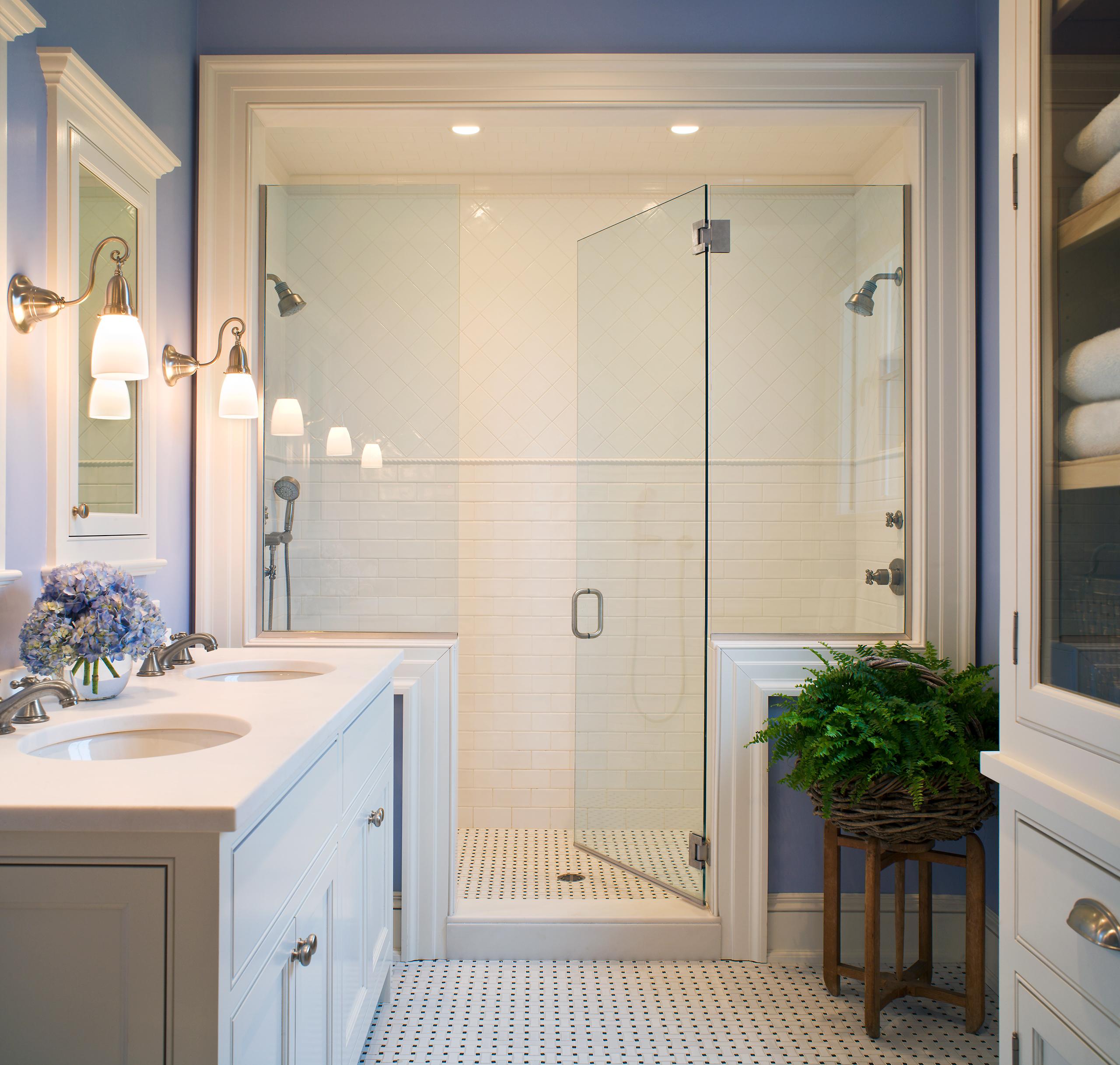 rhode island walk in shower design