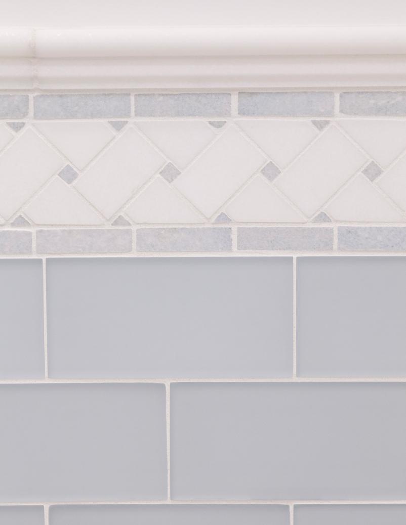 blue tile detail