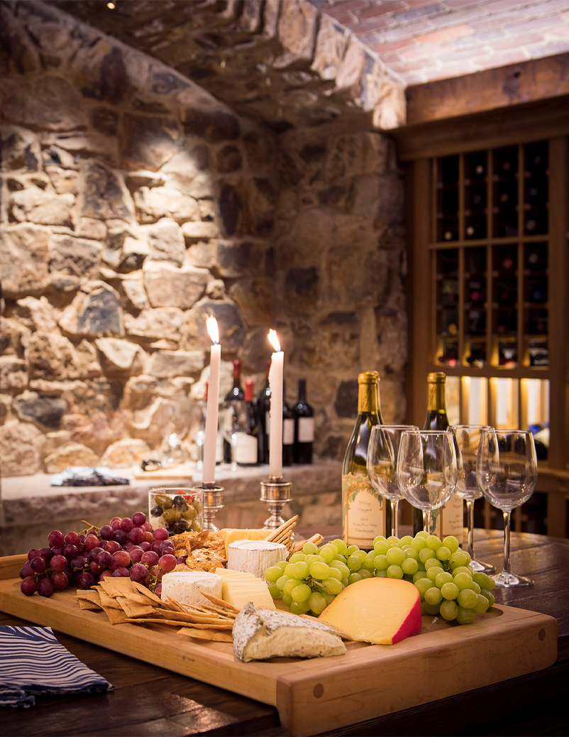 super yacht kitchen wine cellar
